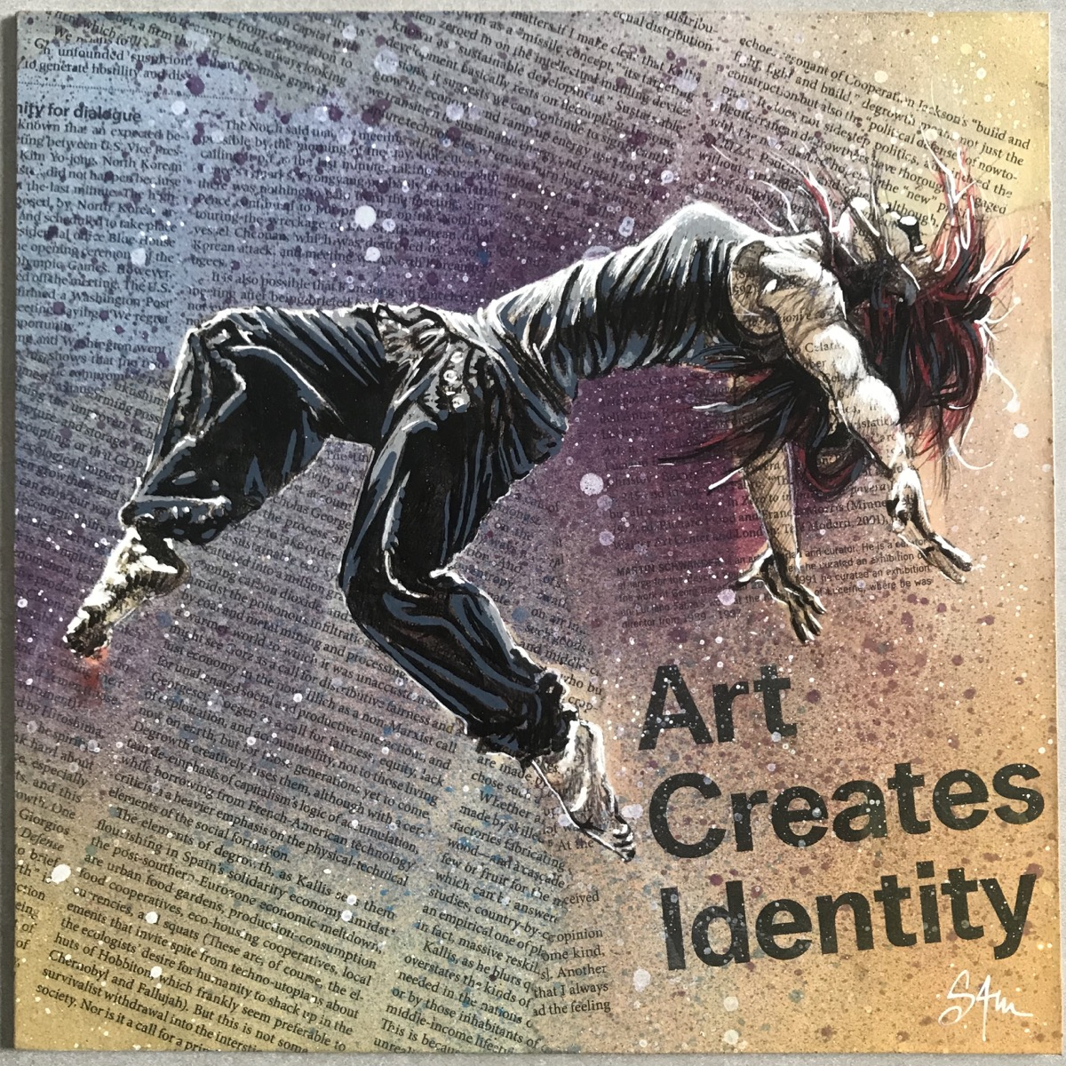 Art creates identity - vendu