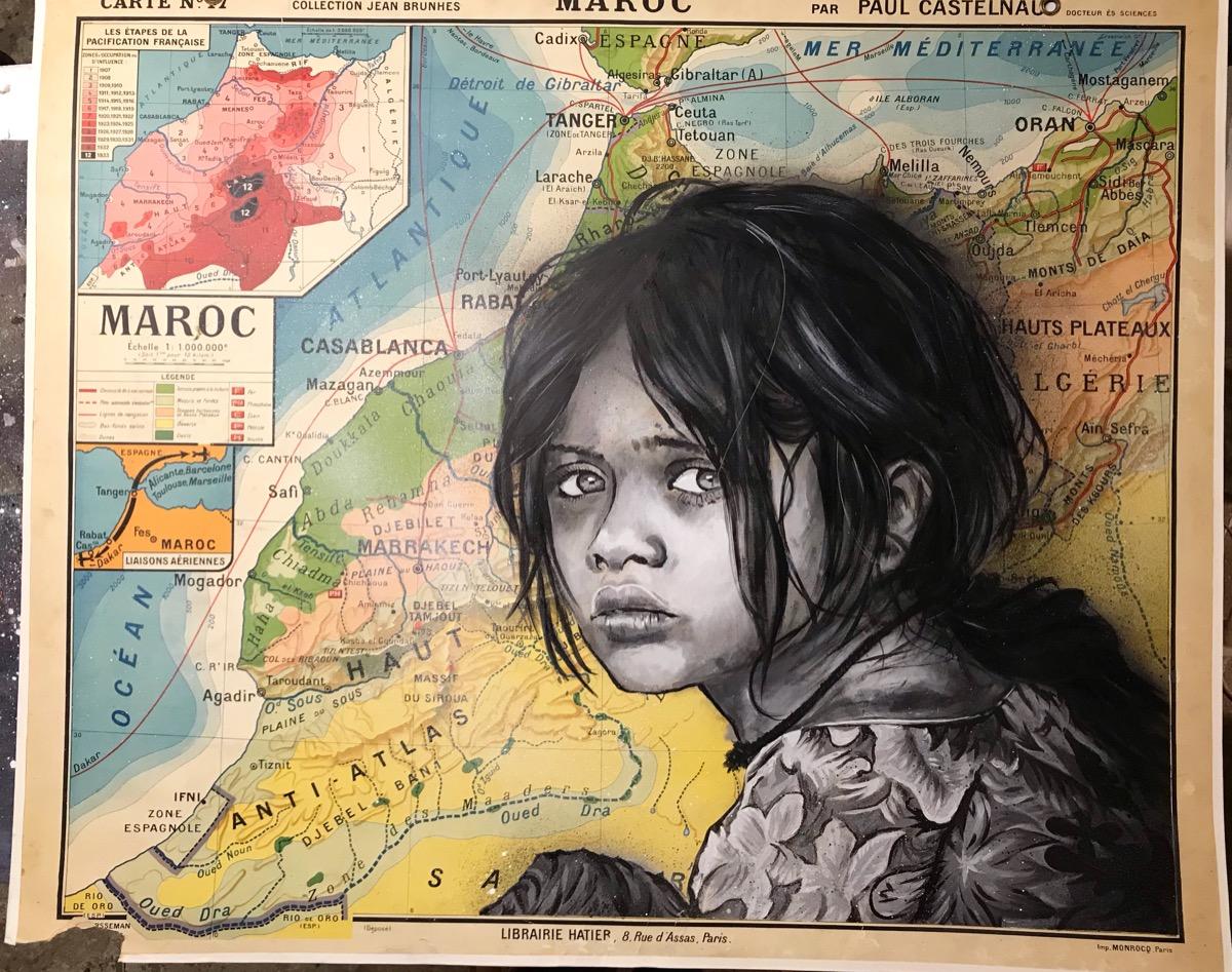 Maroc (100x120) disponible