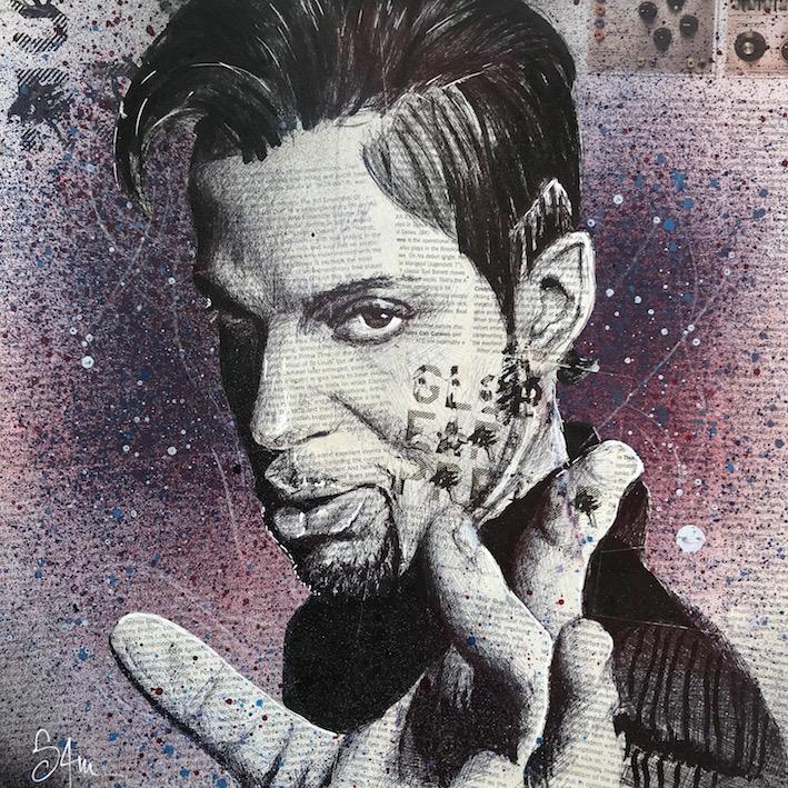 Prince (36x36) dispo en galerie