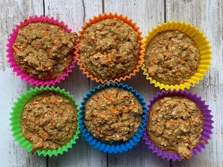 Vegan Carrot Cake Oatmeal Cups