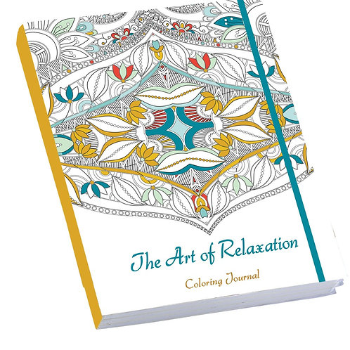 The Art of Relaxation Coloring Journal