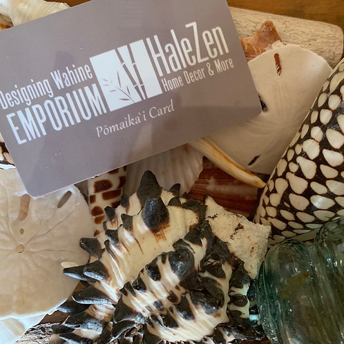 Hale Zen and Designing Wahine Gift Cards