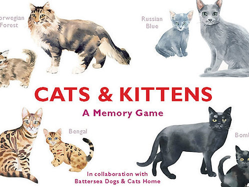 A Memory Game: Cats.Kittens.Dogs.Puppies