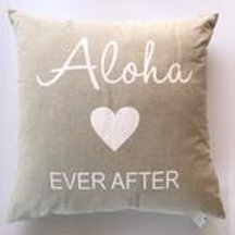 Aloha Ever After 22 x 22 Pillow Cover
