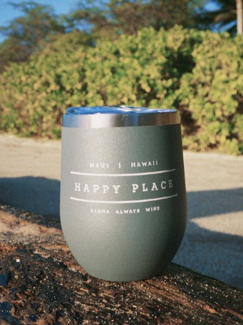 Exclusive Hale Zen Stemless Insulated Wine Tumbler