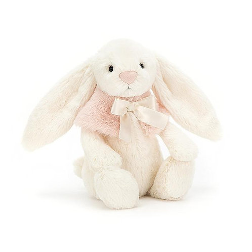 Jellycat Small Bashful Cream Snow Bunny