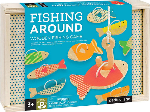 Fishing Around : Wooden Fishing Game