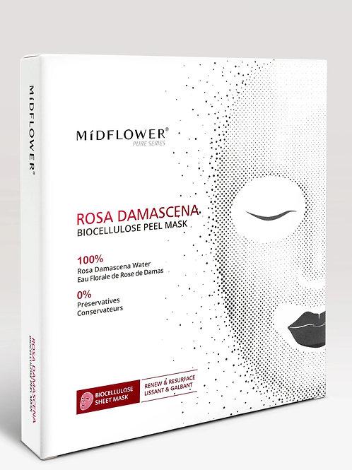 Rosa Damascena Biocellulose Peel Mask/3 Masks