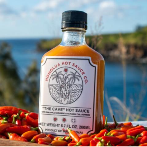 "Honolua Hot Sauce  ""The Cave"""