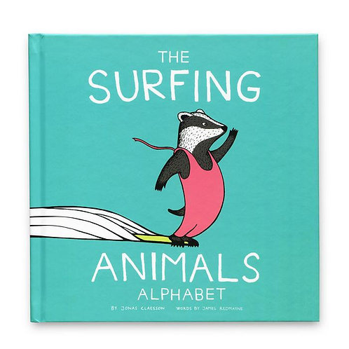 The Surfing Animals Alphabet Book