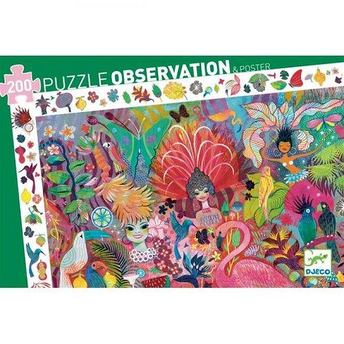 200 Piece Puzzle Observation