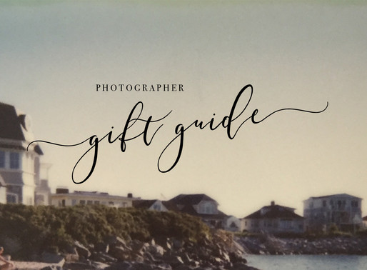 Gift Guide: What to Get A Photographer