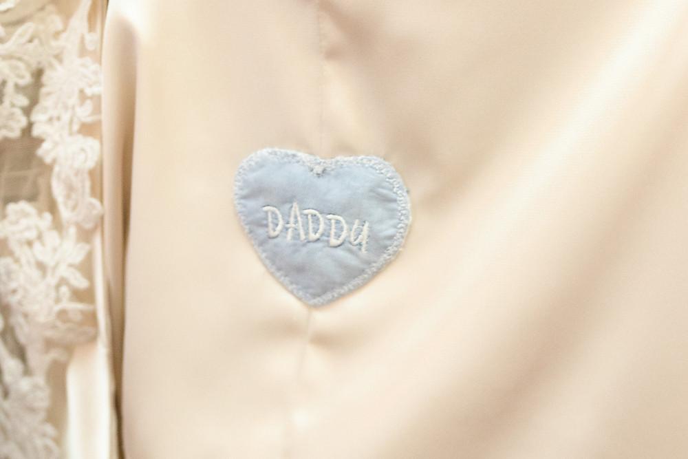 embroidered shirt wedding dress patch
