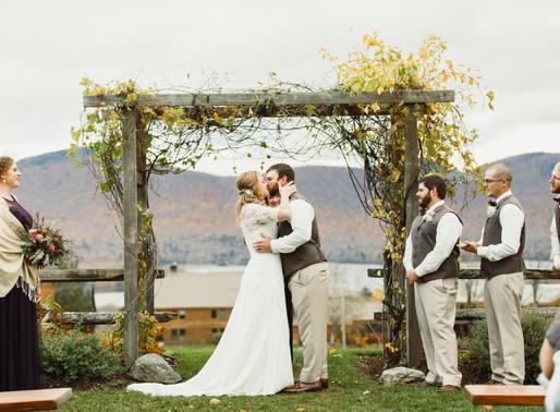 Chelsea & Mike's Fall Wedding   Mountain Top Inn & Resort   Chittenden, VT