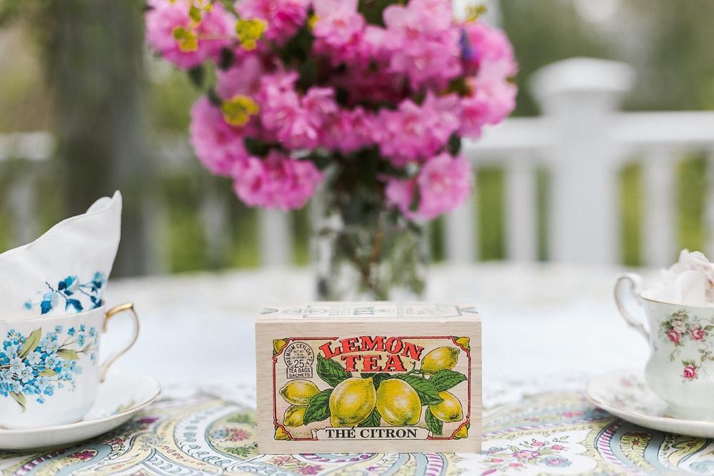 lemon tea box
