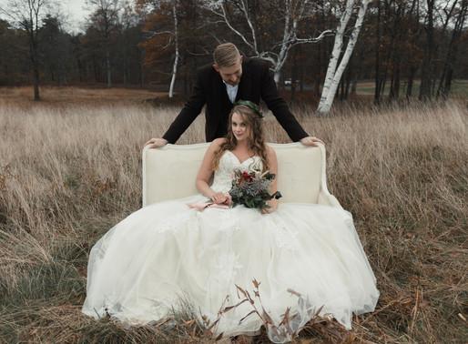 Bohemian Wedding Styled Shoot at Quabbin Reservoir