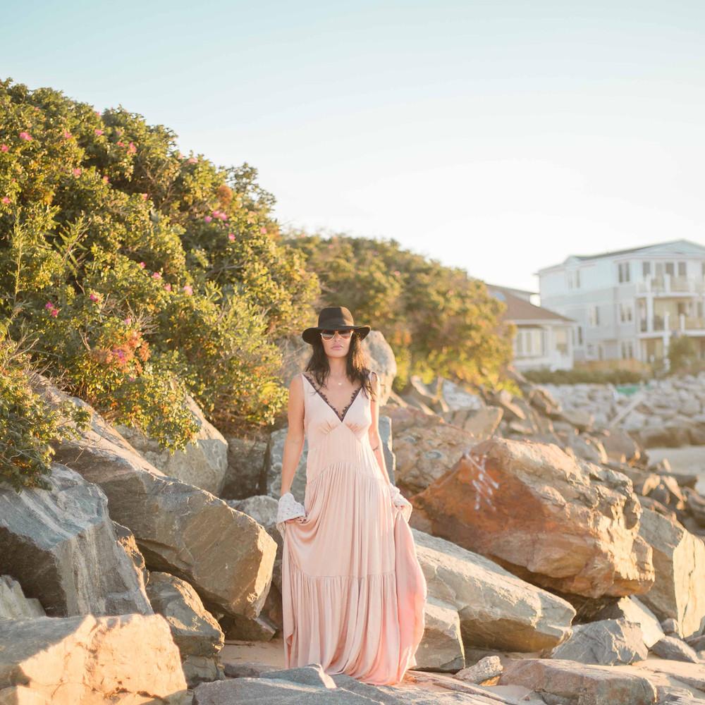 california beach fashion shoot