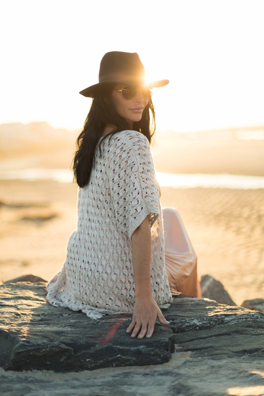 indie beach fashion