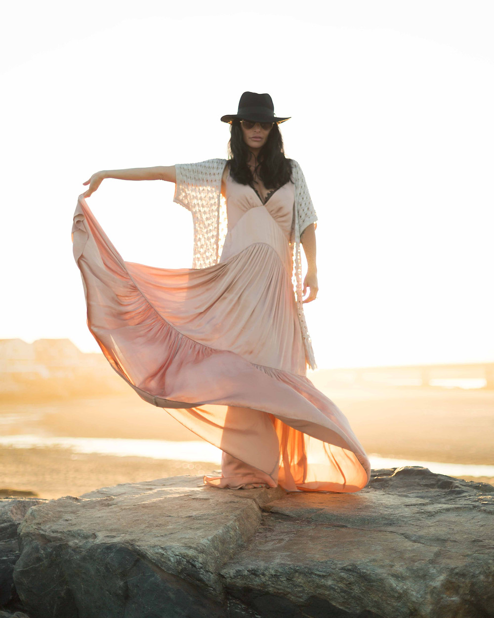 free people pink maxi dress
