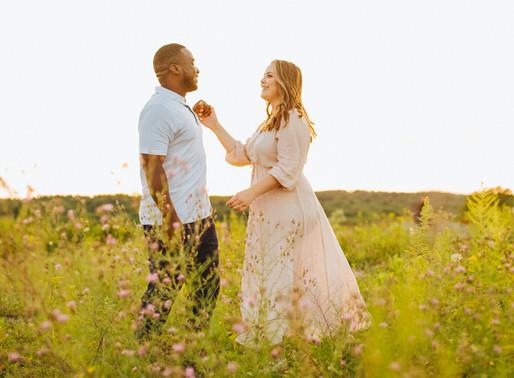 Golden Hour Engagement & Family Shoot | Belchertown, MA