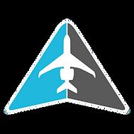 IAMS icon outline color w white plane.pn