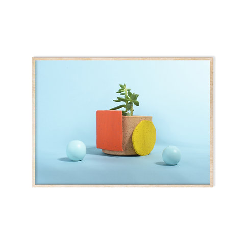 Geometric Planters by Michelle
