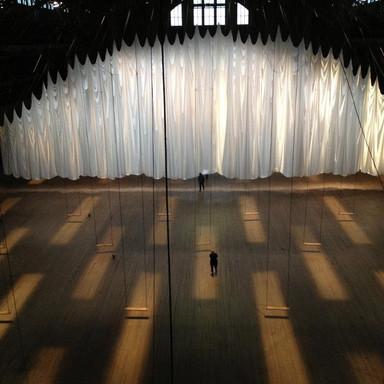 """event of a thread"" by Ann Hamilton"