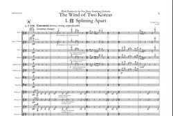 The Wind of Two Koreas, for full symphonic orchestra