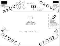 Semaphore Conductus, SSAA or TTBB chorus w/ electronic playback