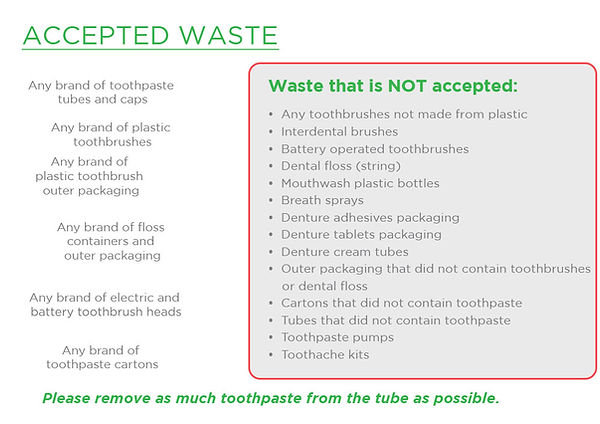 terracycle dental recycle