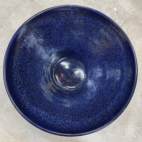 Galactic Blue Serving Bowl