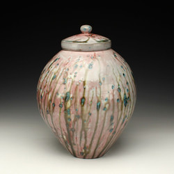 Copper Sand Ginger Jar