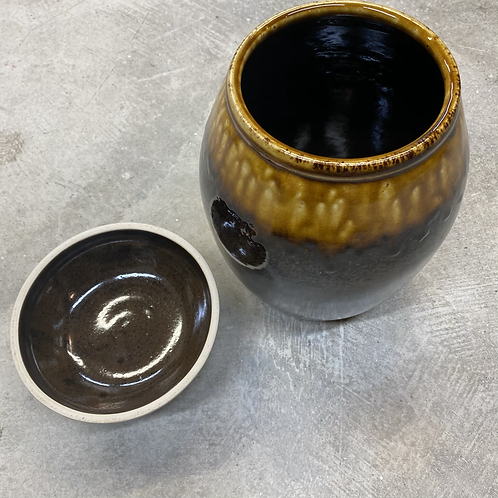 Spruce Tenmoku Fermentation Jar