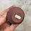 Thumbnail: Copper Chunky Matte Plum Vase