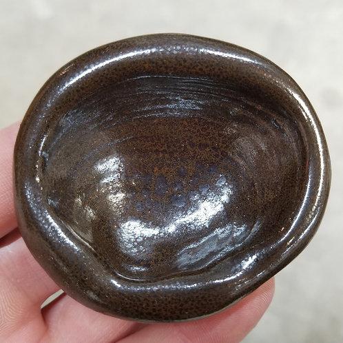 Beach Sand Oilspot Shell Dish