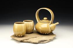 Stillwater Limestone Teapot Set