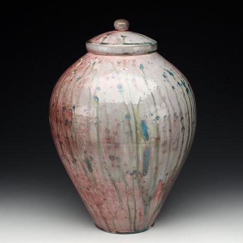 Celadon Copper Sand Storage Jar