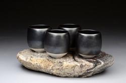 22 Granite Cups