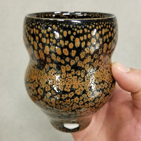 Orange Lava Spot Cup