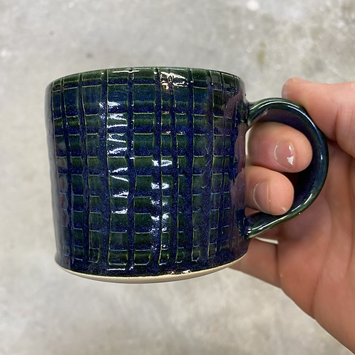 Galactic Blue Mini Mug 2