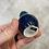 Thumbnail: Turquoise Blue Mini Vase