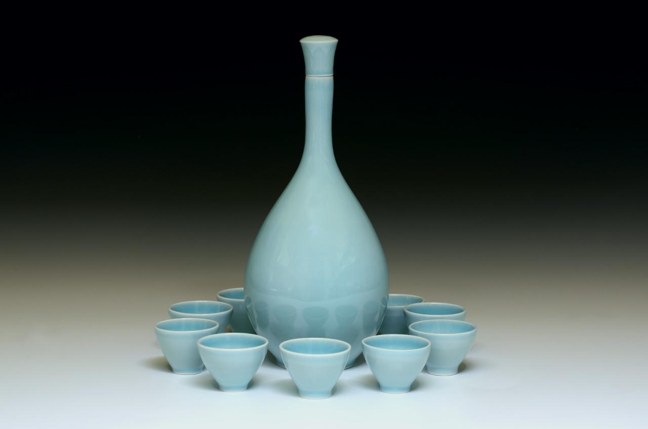 Matt Fiske Ceramics Soju Service