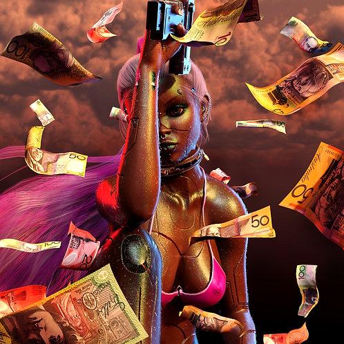 Cash Serwah Attafuah Print 3D art