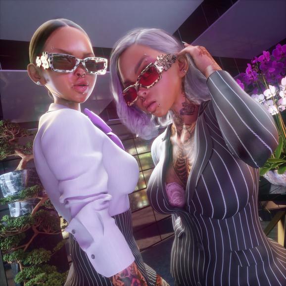 SOTO X AKILA Manifest Sucess sunglasses