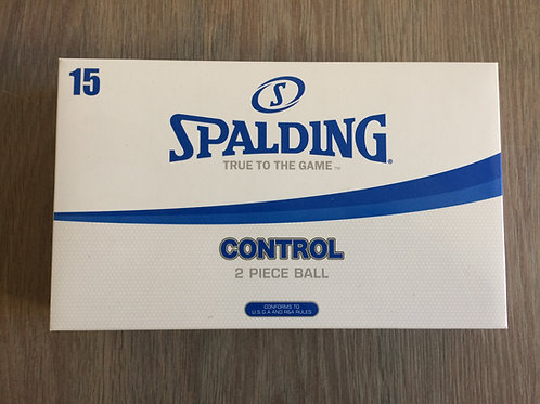 Spalding - Control 2 Piece Ball - 15 ballen