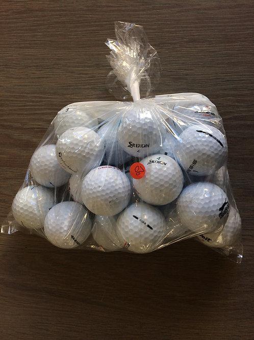 20 tweedehands golfballen