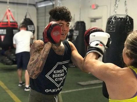 City boxing bootcamp Bowe Van Damme