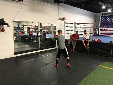 City boxing training bootcamp