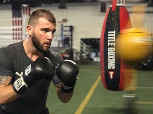 Caleb Plant | Fitness boxing | Las Vegas | City Boxing Club