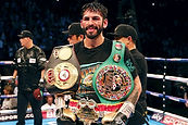 Jorge Linares at city boxing club las vegas